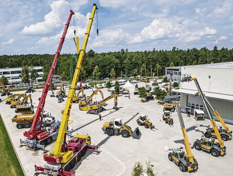 Bauunternehmer Berlin liebherr eröffnet zweiten standort im großraum berlin der