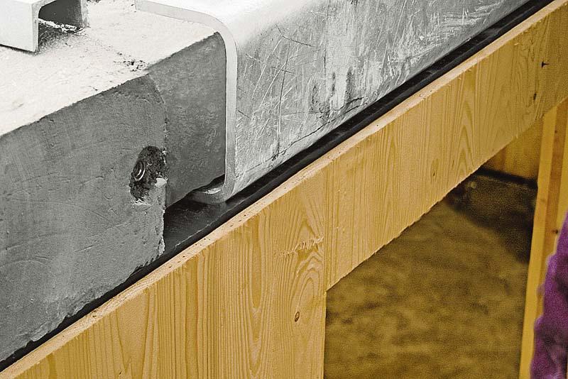 holzhaus trifft betondecke der bauunternehmer. Black Bedroom Furniture Sets. Home Design Ideas