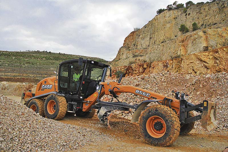 Case-Grader 856C. (Foto: Case Construction Equipment)