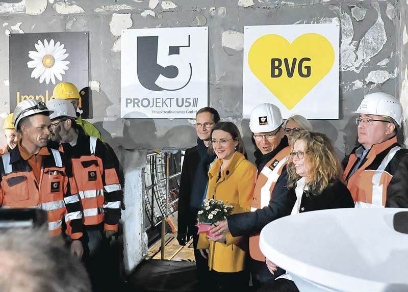 Bauunternehmer Berlin tunneldurchbruch in berlin der bauunternehmer